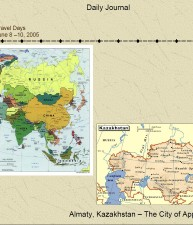 Travel Days – Maps