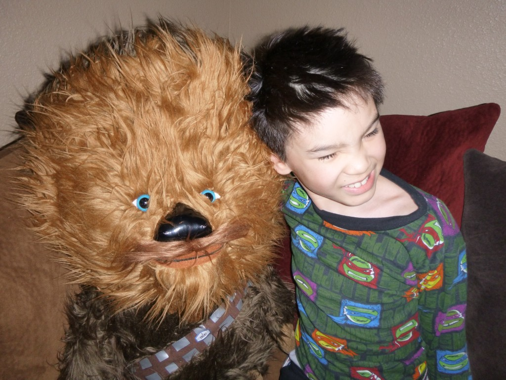 Darius and the Wookie