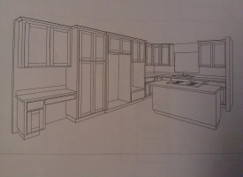 Kitchen designed